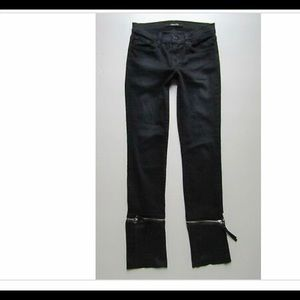 J Brand Jeans - J Brand NWT VIV zip-off skinny leg jeans w/leather